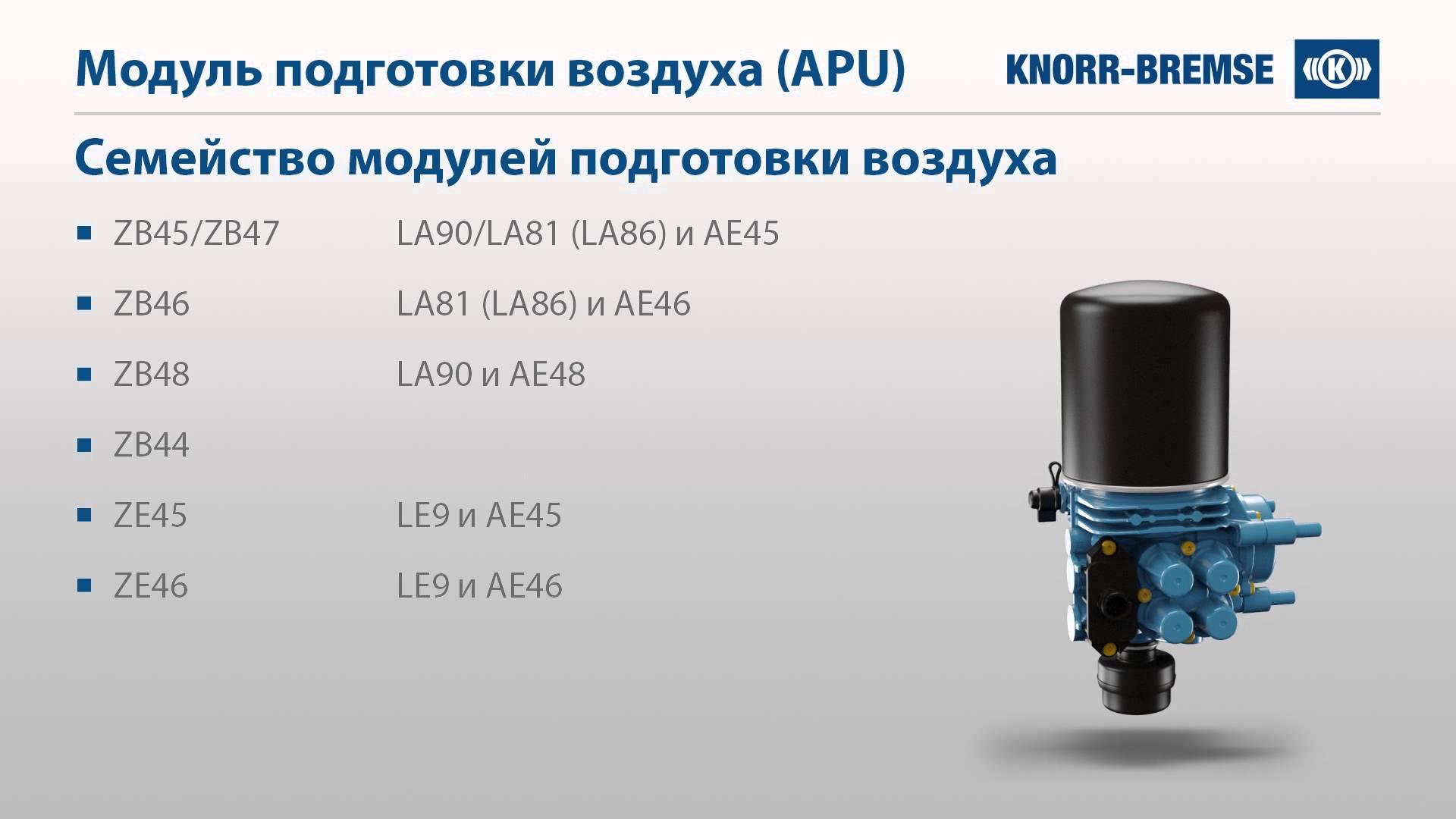 Ремонт влагоотделителя серии LA81XX